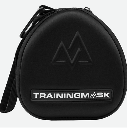 Training Mask Black & White Carry Case