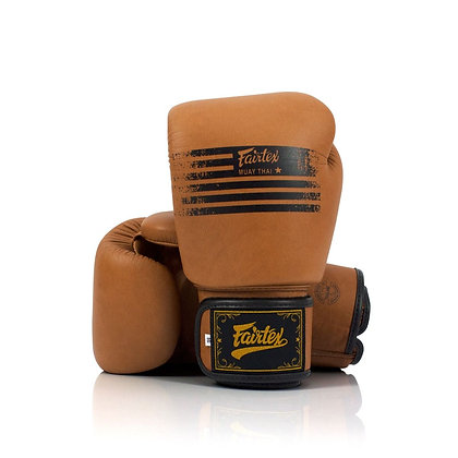 "Fairtex BGV21 ""Legacy"" Genuine Boxing Gloves"