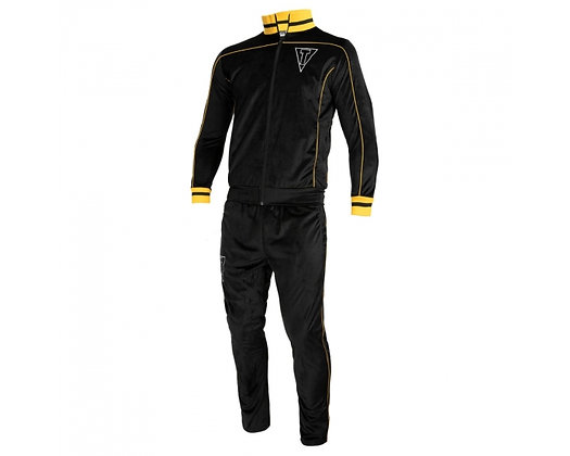 """TITLE """"Boxing Ain't Easy"""" Velour Warm Up"""