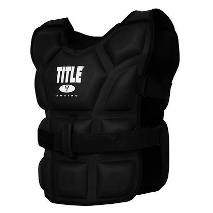 "TITLE Boxing ""Big Flex"" Weighted Training Vest"