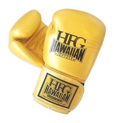 "HFG ""HAWAIIAN GOLD 24K"" BOXING GLOVES"