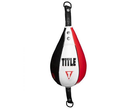 TITLE Boxing Mexican Style Infused Foam Double End Bag