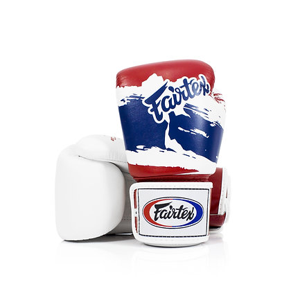 "Fairtex BGV1 Universal Gloves ""Tight-Fit"" Design-Thai Pride"