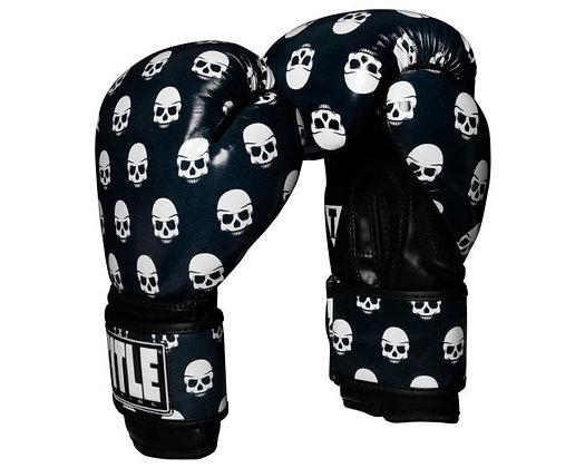 TITLE Boxing Infused Skull Print Bag Gloves