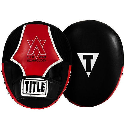 TITLE Air Vent Technology Punch Mitt Set