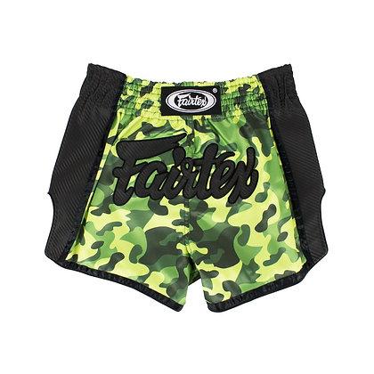 Fairtex BS1710 Muay Thai Shorts - Green Camo