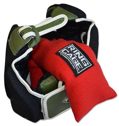 RING TO CAGE Headgear Dog - Boxing MMA Headgear Sweat Absorber