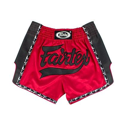FAIRTEX Muay Thai Shorts - BS1703 Red/Black