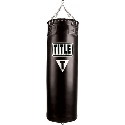 Traditional Synthetic Heavy Bag (Unfilled)