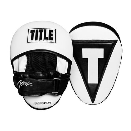 """TITLE Boxing Attack """"Big-T"""" Punch Mitts 2.0"""