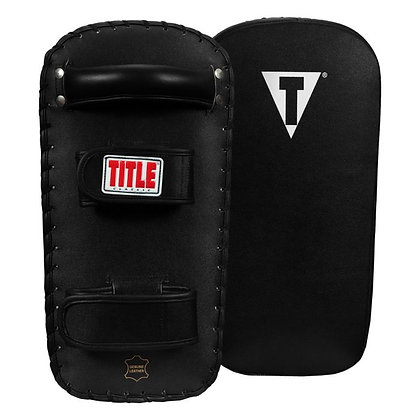 TITLE Classic Pro-Style Leather Thai Pads