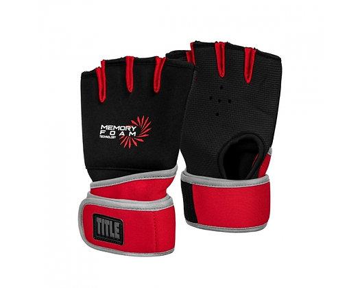 TITLE Boxing Memory Foam Quick Hand Wraps