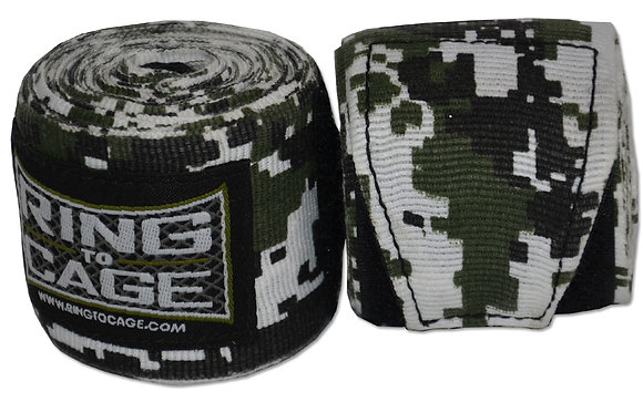 "RING TO CAGE 180"" Mexican Style Stretchable - Camo Prints"