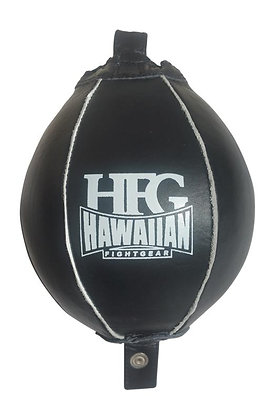 HFG DOUBLE END BAG LEATHER-BLACK