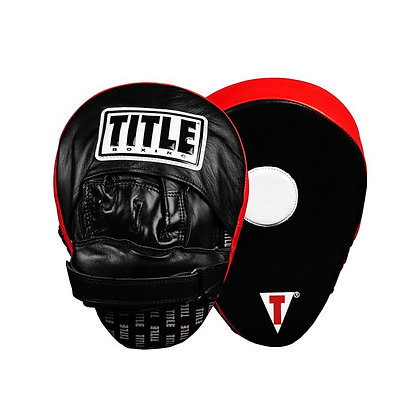 TITLE Boxing Incredi-Ball Leather Punch Mitts 2.0