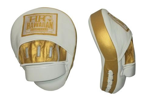 HFG PLATINUM PANTHER II PUNCH MITTS-GOLD