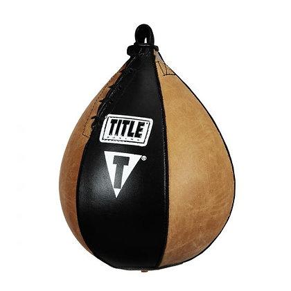 TITLE Vintage Leather Super Speed Bag