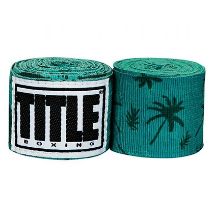 Palm Tree Print Hand Wraps 180""