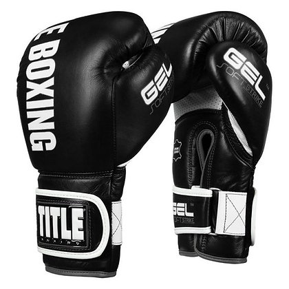 TITLE Boxing Soft Strike Gel Bag Gloves 20oz