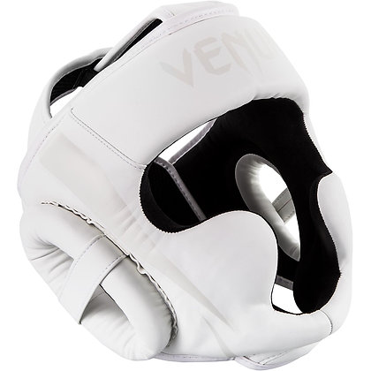VENUM ELITE HEADGEAR - WHITE