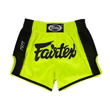 FAIRTEX Muay Thai Shorts - BS1706 Lime Green