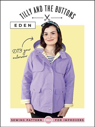 Eden Raincoat by Tilly and the Buttons