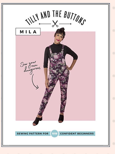 Mila Jumpsuit by Tilly and the Buttons