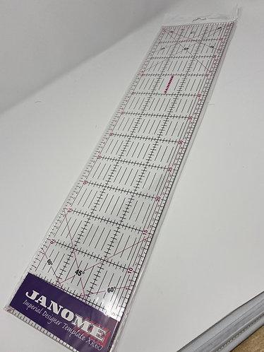 Janome Quilting Ruler  metric 15cm x 60cm