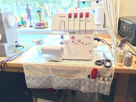 Sewing Machine Mat: Project for My Brother Overlocker, Serger M343D (the new version of 1034D)