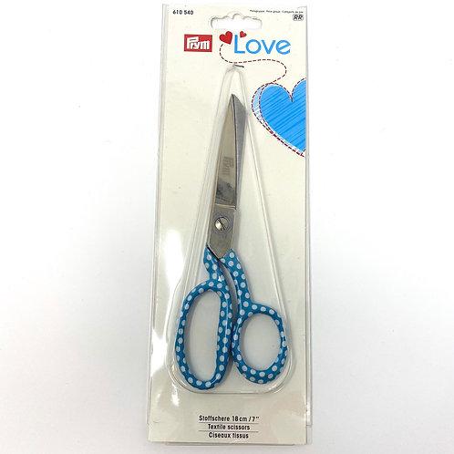 """Prym Love Textile Scissors 7"""" / 18cm"""