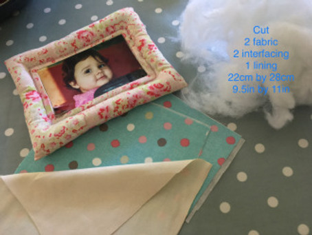 Fat Quarter Project – Sew a Picture Frame