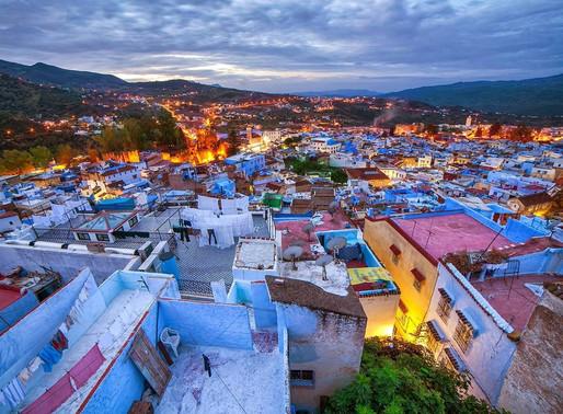 מגלים את מרוקו: שפשוואן (Chefchaouen)