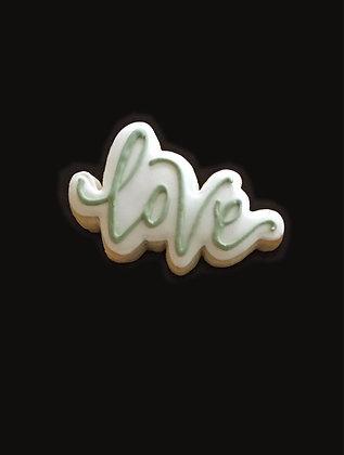 6 Love script ($1.75 each)