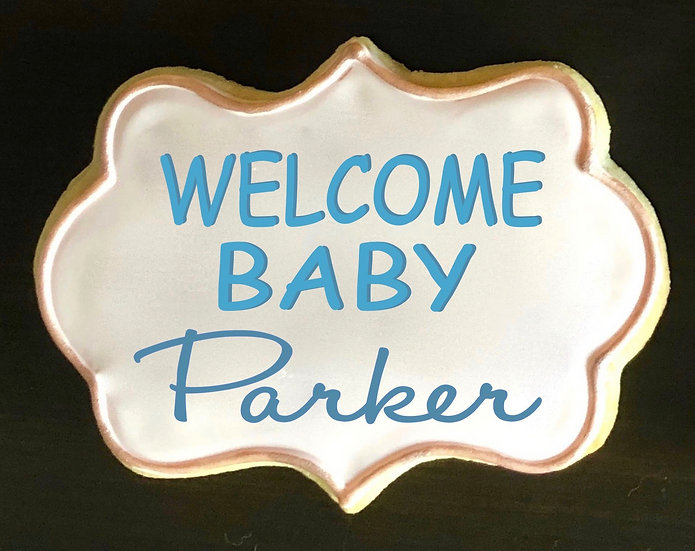 6 Welcome Baby Plaques ($2.75 each)