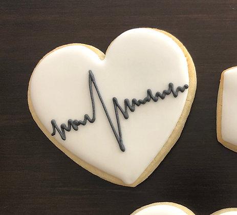 6 Heartbeat hearts ($2.00)