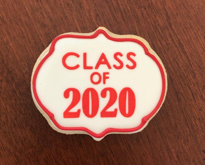 6 Class of 2020 ($2 each)