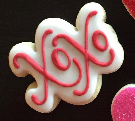 6 XOXO cookies ($2 each)