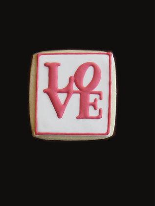 6 Love squares ($2.50)