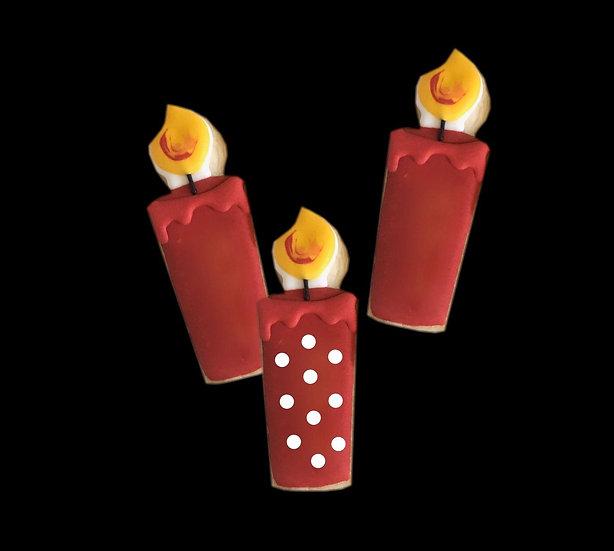 6 Birthday candles ($2 each)