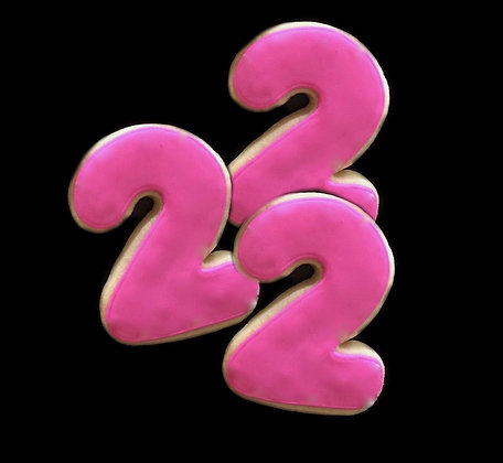 6 Rounded basic numbers ($2 each)