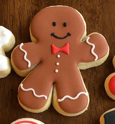 6 Gingerbread Man Cookies