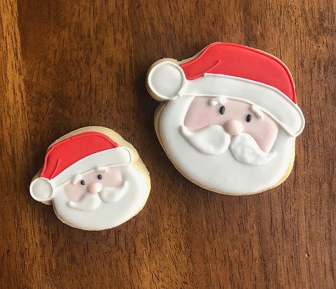 6 Santa Claus Cookies