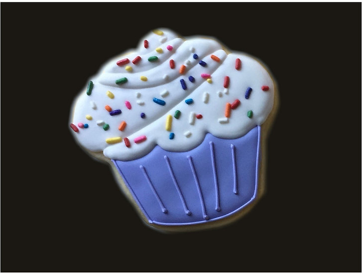 6 Cupcakes with sprinkles ($2.70 each)