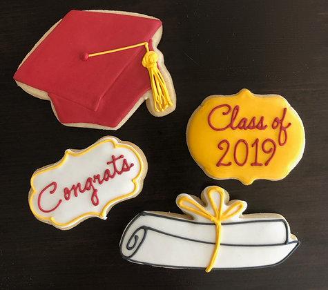 Medium (6 dozen) Graduation Platter