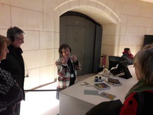 Visite de l'art du Pastel Degas à Redon au Petit Palais le 3 février dernier