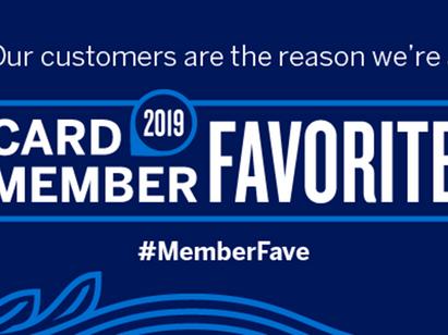 Tekorder, selected as an American Express 2019 Member Favorite!
