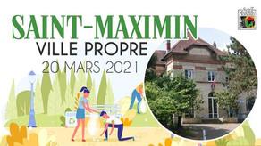 Nettoyage de printemps à Saint-Maximin