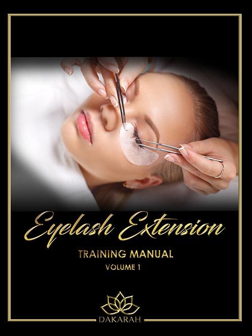 Lash Extension Training Manual Volume 1
