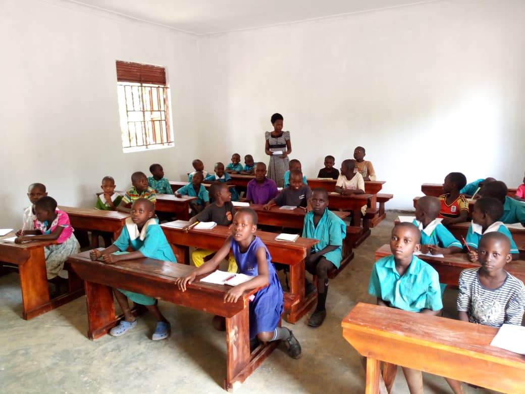 Wonderful classroom