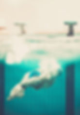 tampões para nadadores